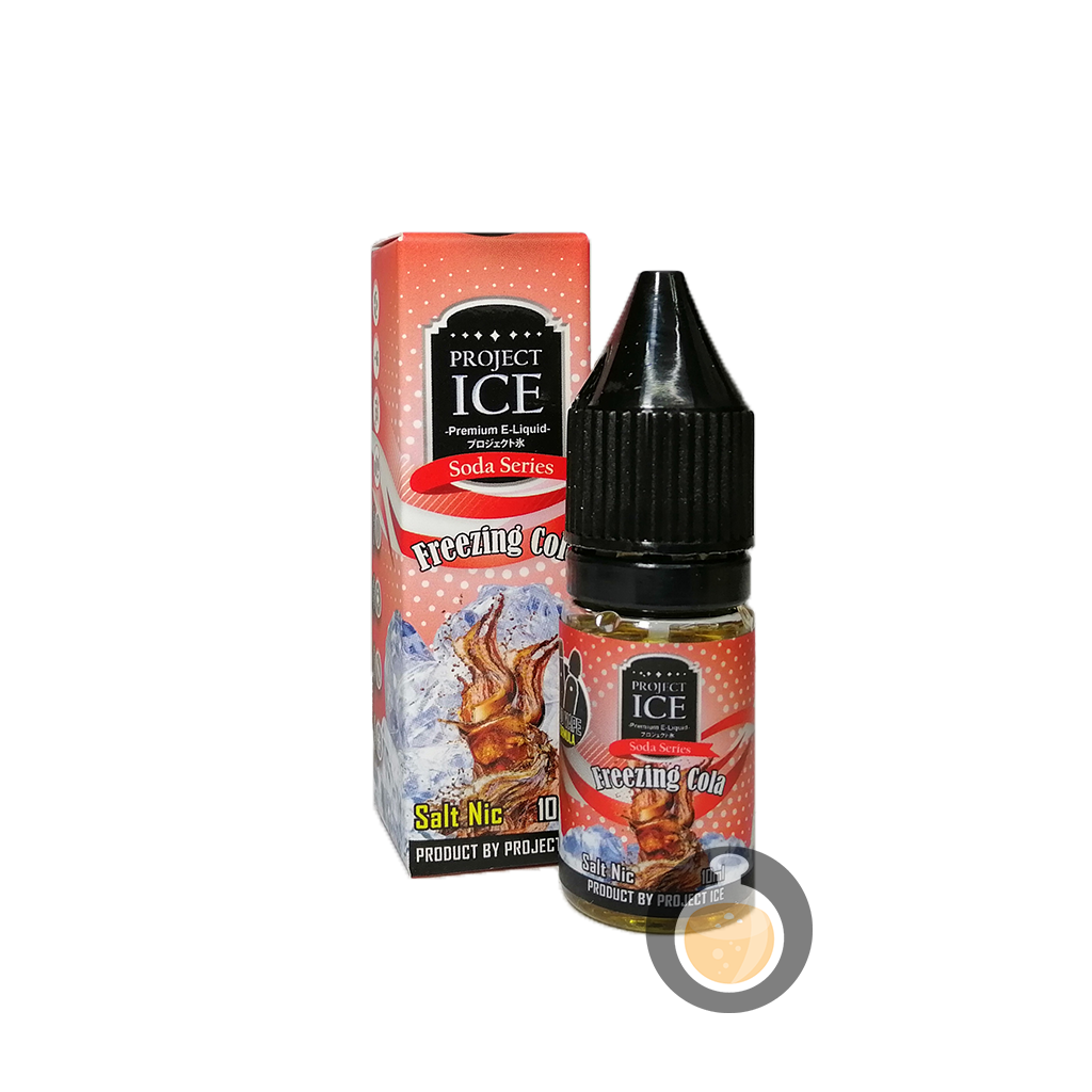 (Project Ice Soda Series - Freezing Cola Salt Nic Vape E-Juices & E-Liquids)