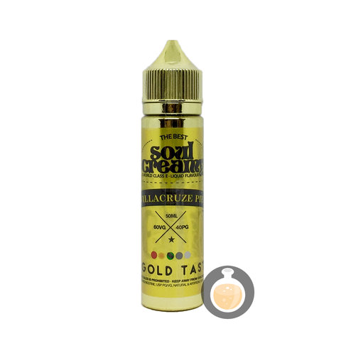 Soul Creamy - Villacruze Pie (Buy Vape E Juice , Wholesale E Liquid Website , Malaysia Vapor Distributor Store) Shop Now - Vape Orb