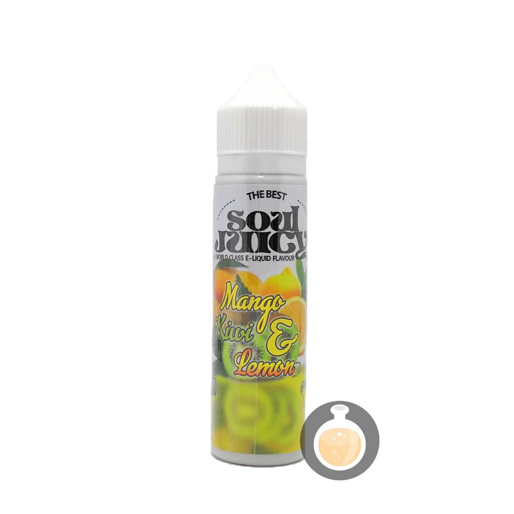 (Soul Juicy - Mango Kiwi & Lemon Vape E-Juices & E-Liquids)