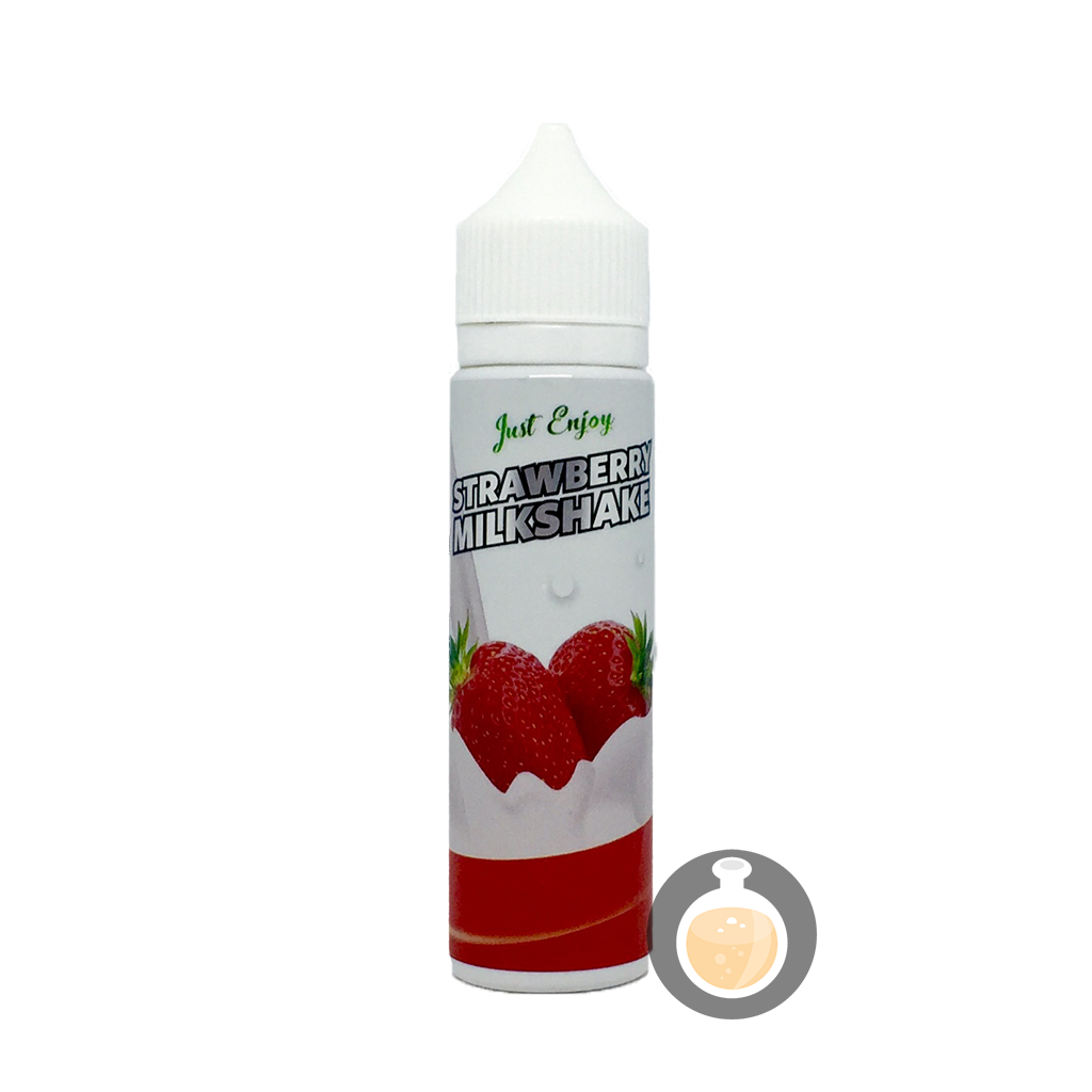(Just Enjoy - Strawberry Milkshake Vape E-Juices & E-Liquids)