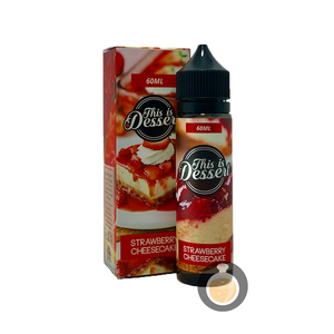 This Is Dessert - Strawberry Cheesecake (Buy Vape E Juice , Wholesale E Liquid Website , Malaysia Vapor Distributor Store) Shop Now - Vape Orb