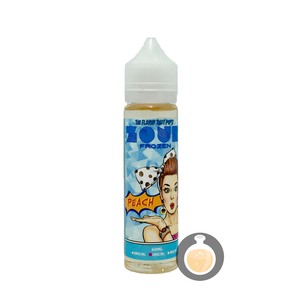 (Apollo - Zour Frozen Peach Vape E-Juices & E-Liquids)
