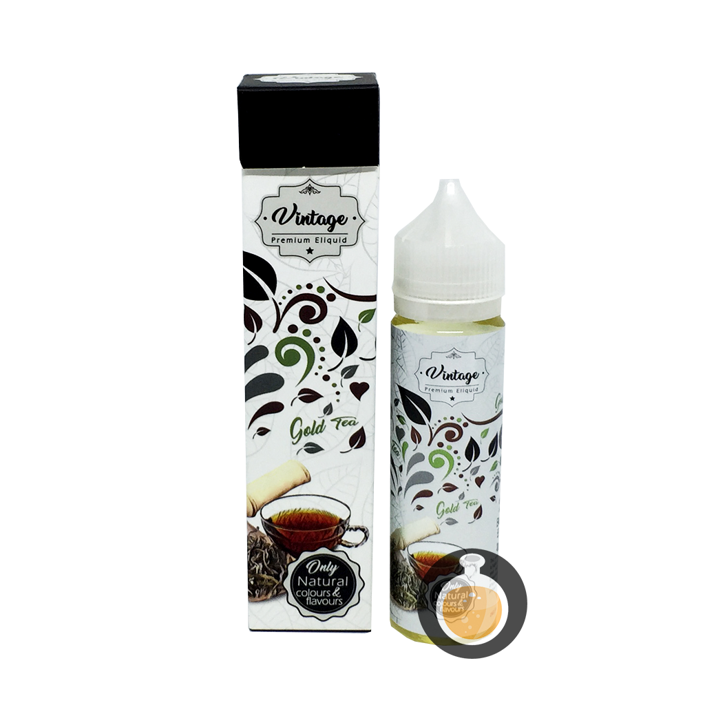 (Vintage - Gold Tea Vape E-Juices & E-Liquids)