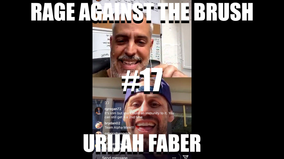 Rage Against The Brush With BUA #17 - Urijah Faber - 04/22/2020