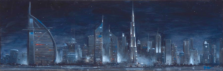 Dubai (stretched on canvas)