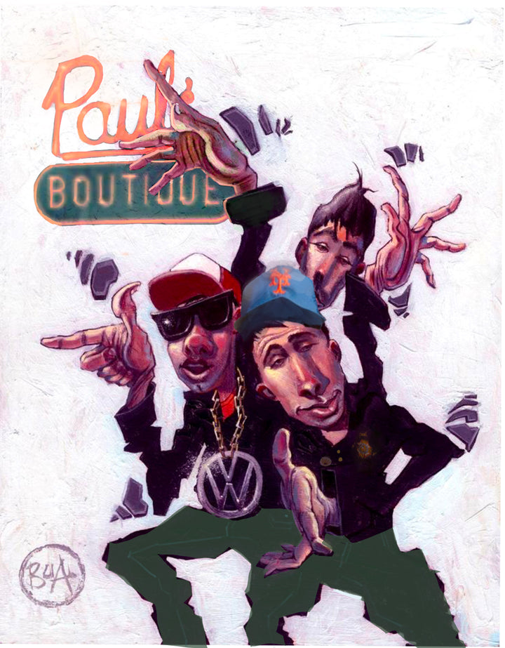 Beastie Boys Variant - Paul's Boutique - Limited Edition
