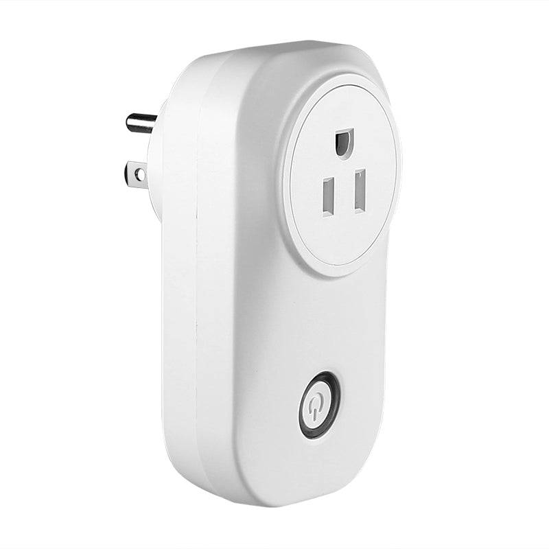 Smart Home WiFi Plug - Type-B USA Plug, Amazon Echo Alexa, Supports Android And iOS, App Support, WiFi, Flame Retardant ABS