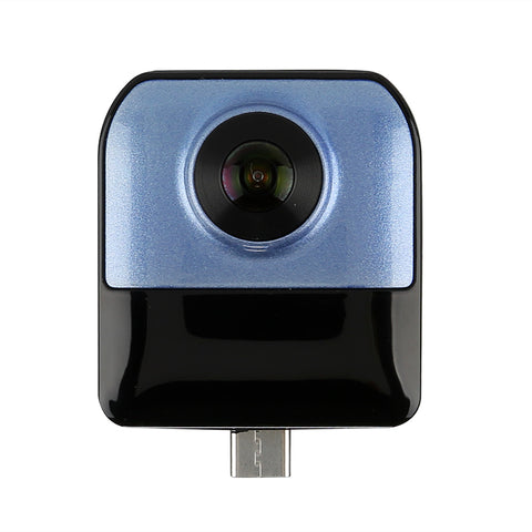 Mini Panoramic Smartphone Camera - Double Camera, 360-Degree x 220-Degree, 1080P Video, 4MP CMOS, Fit For Android Phones