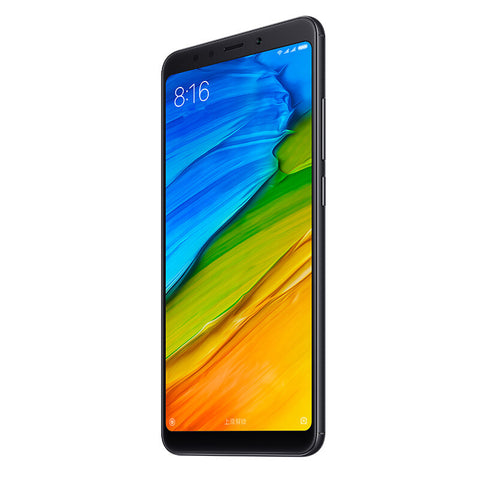 Xiaomi Redmi Note 5 Android Phone - Snapdragon 636 CPU, Octa-Core, 6GB RAM, Dual-IMEI, 4G, 2K Display, 12MP Cam (Black)
