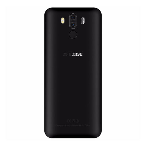 Pure 3 Android Phone - 5.7 Inch Screen, Octa Core Helio Chipset, 4GB RAM, Android 7.0, 4G, 4000mAh Battery (Black)