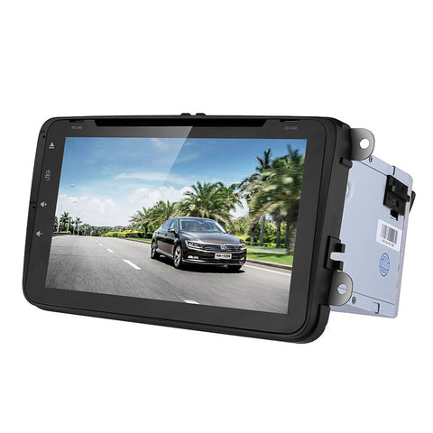 Dual-DIN Car Media Player
