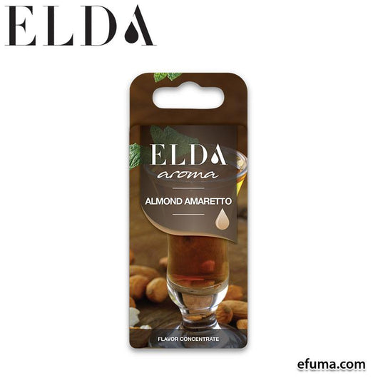 10pcs Elda Almond Amaretto - 1ml fra Elda