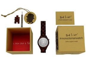 Monoclemanwatch red woman Uhr - Plasticfreeworld