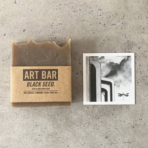 ART BAR: Black Seed Soap + Limited Edition Print