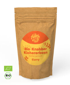 Bio-Knabberkichererbsen Curry - Plasticfreeworld