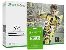 XBOX ONE S 1TB with Fifa 17 and LIVE CARD 3 MONTH