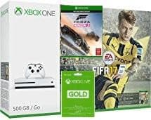 XBOX ONE S 500 GB with Fifa 17, Forza Horizon 3 and LIVE CARD 3 MONTH