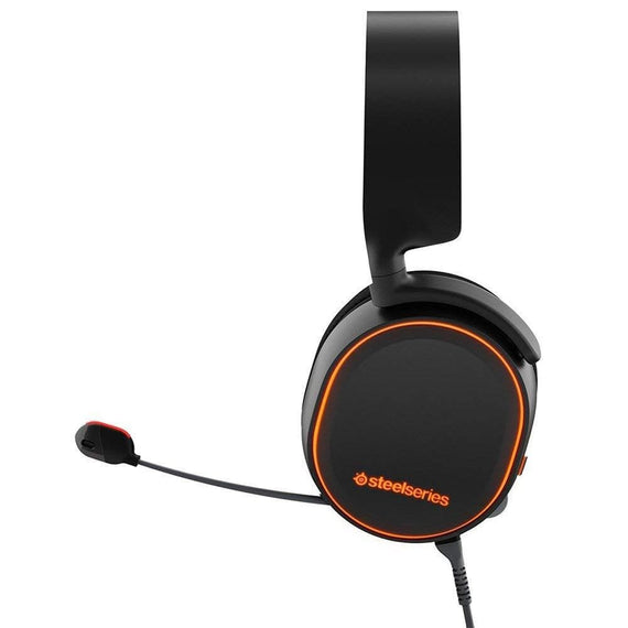SteelSeries Arctis 5 (2019 Edition) RGB Illuminated Gaming Headset with DTS Headphone:X v2.0 Surround