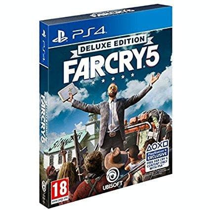 Far Cry 5 Deluxe Arabic Version (PS4)