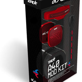 ASTRO Gaming A40 TR Mod Kit, Noise Cancelling Conversion Kit - Red
