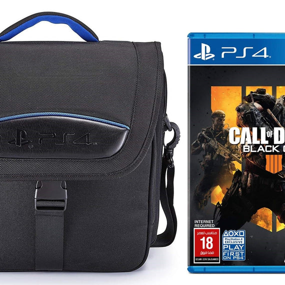 Big Ben, Official Bag PS4 + Call of Duty Black OPS  4