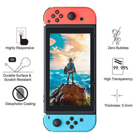 BENOKER Screen Protector for Nintendo Switch, Tempered Glass Screen Protector