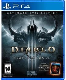 Diablo III: Ultimate Evil Edition PlayStation 4 -Used