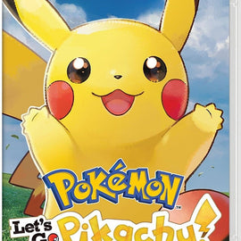 Pokémon: Let's Go, Pikachu! (Nintendo Switch)