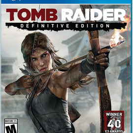 Tomb Raider: Definitive Edition - PlayStation 4 Used