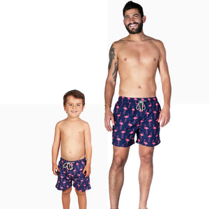 STIVALI Father & Son Matching Swim Trunks Kids Size - 9 Months