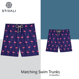 STIVALI Father & Son Matching Swim Trunks Adult Size - XXL