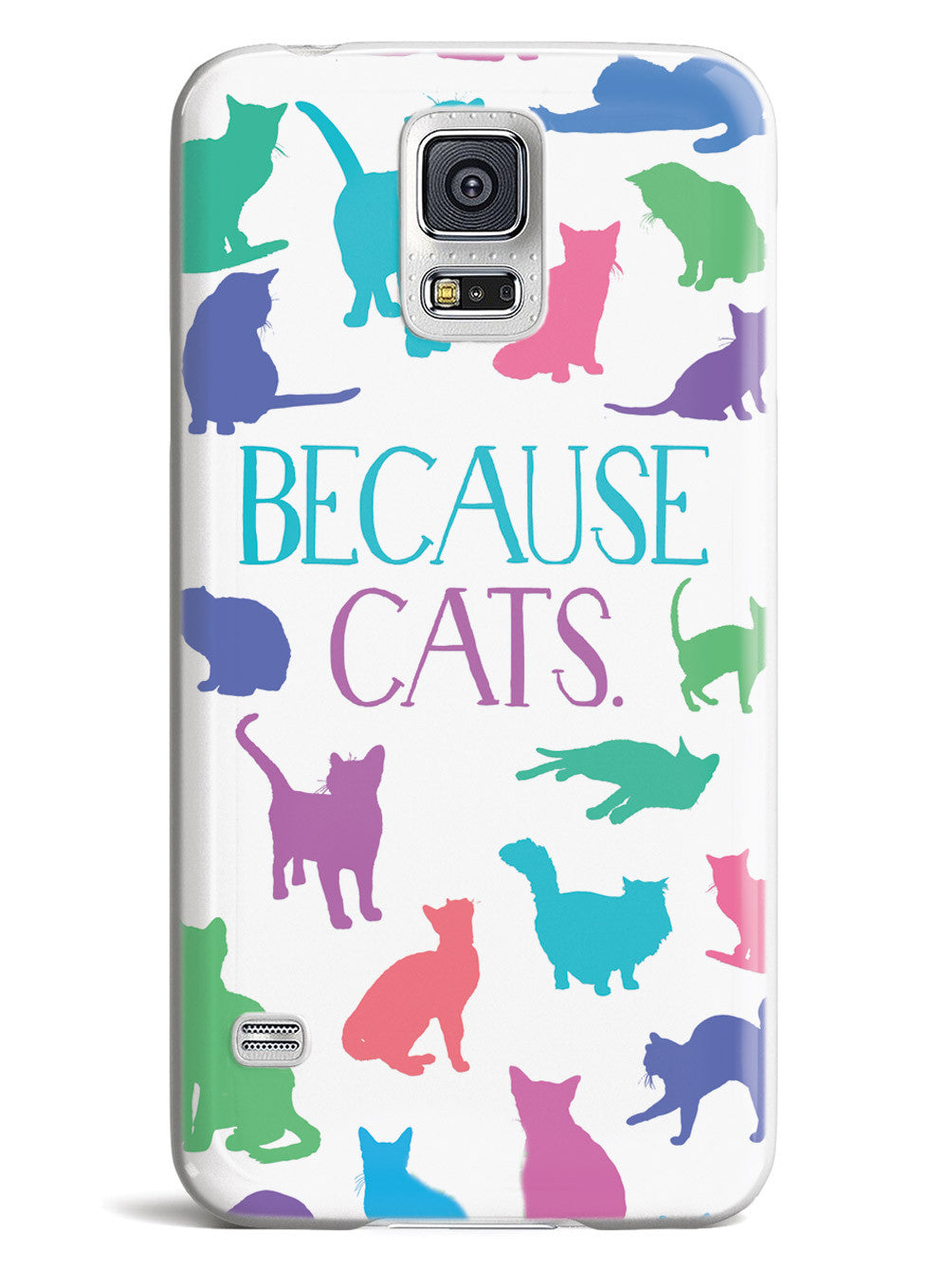 Because Cats. Humor Funny Case