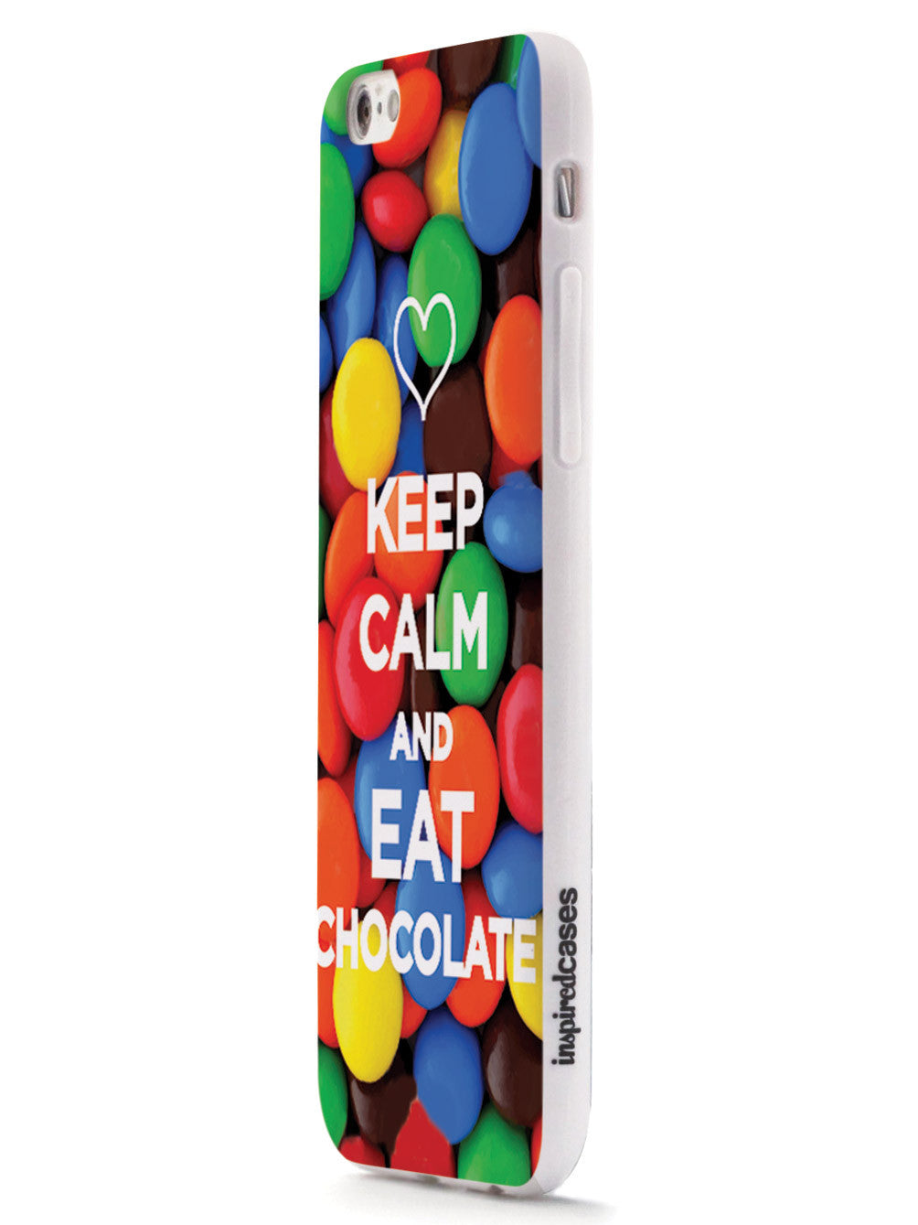 Keep Calm & Eat Chocolate Humor Funny Case