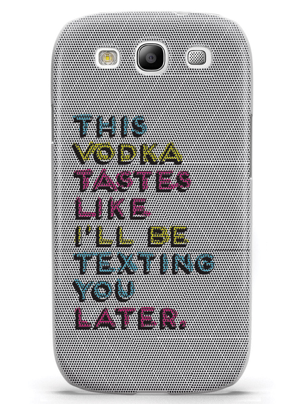 This Vodka Drinker's Funny Humor Case