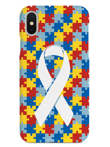 Autism Awareness Puzzle Pieces Case