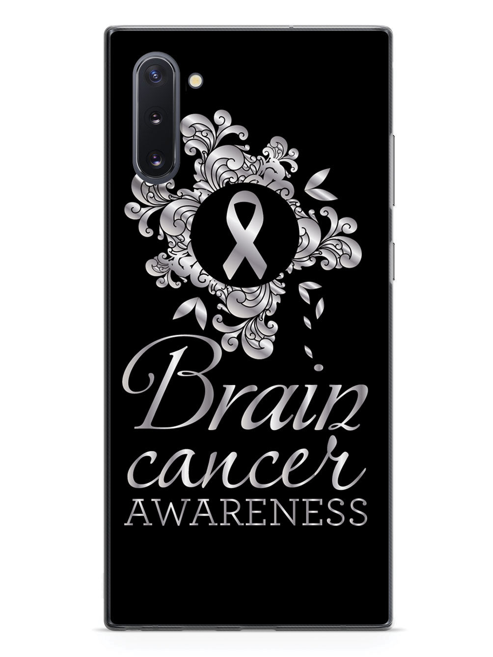 Brain Cancer Awareness Flower Design Case