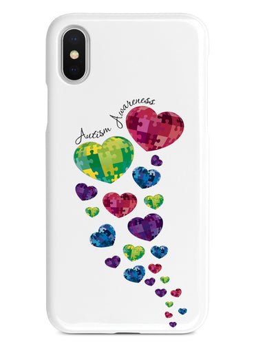 Autism Awareness Hearts Case