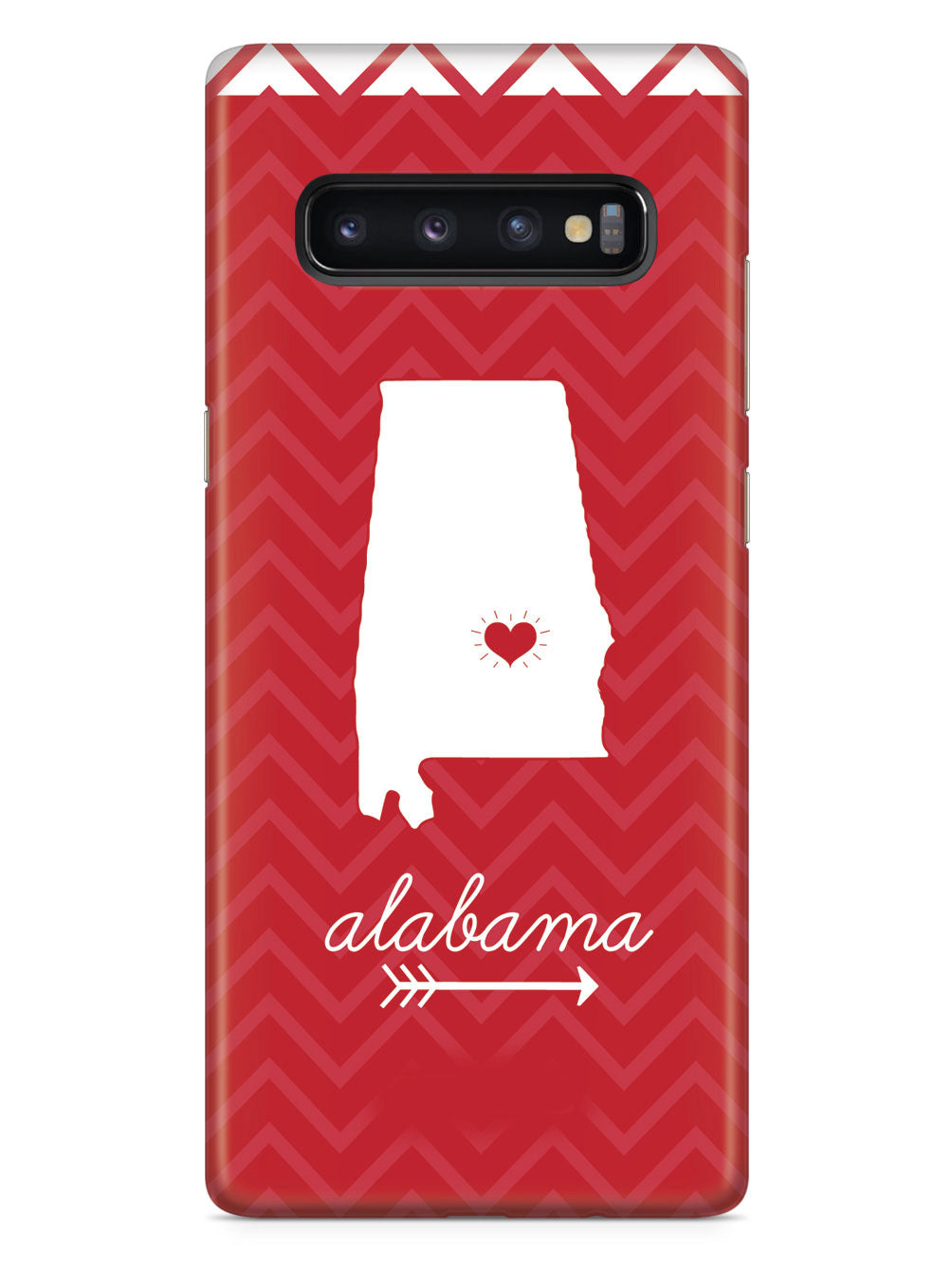 Alabama Chevron Pattern State Case