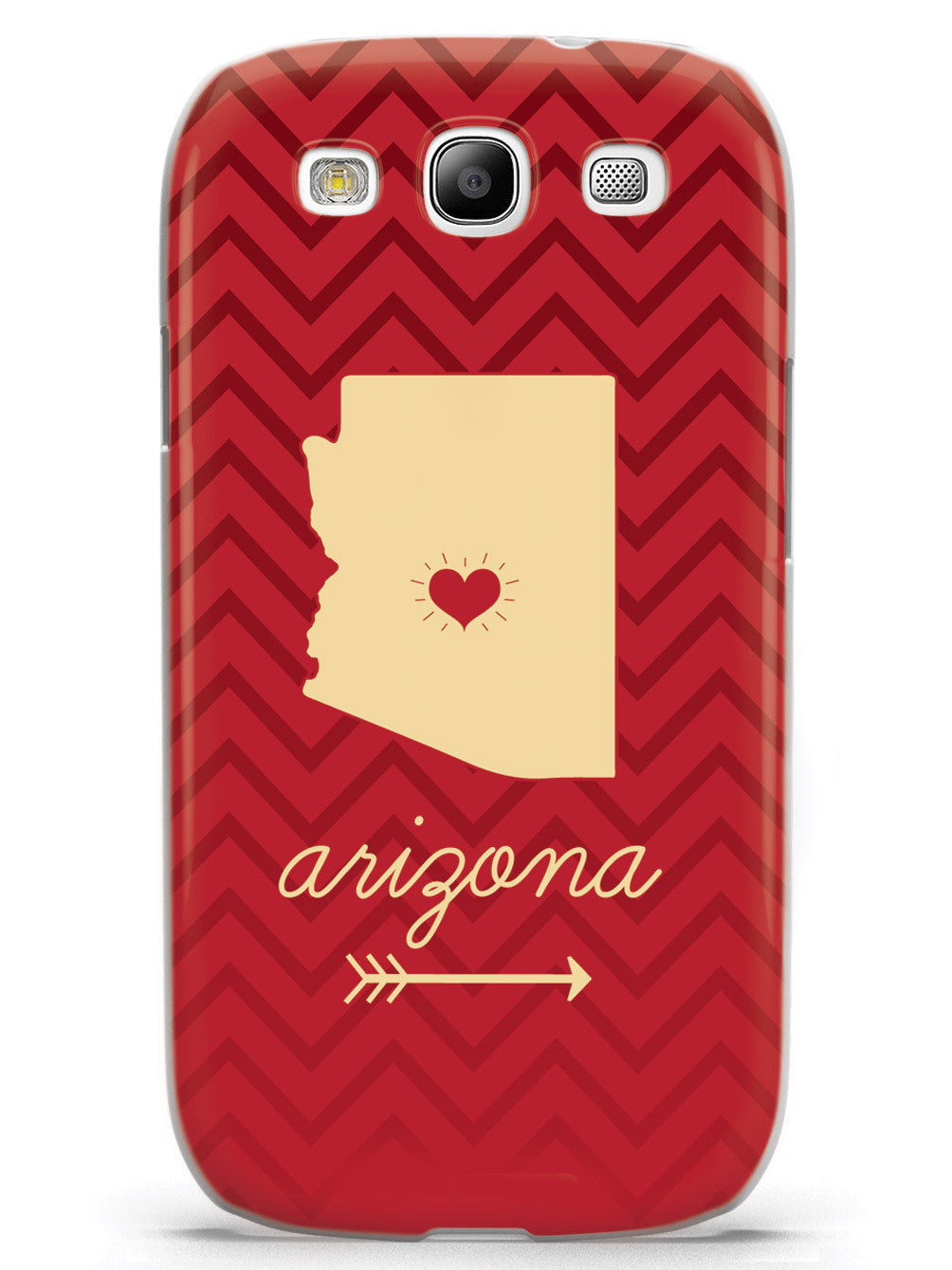 Arizona Chevron Pattern State Case