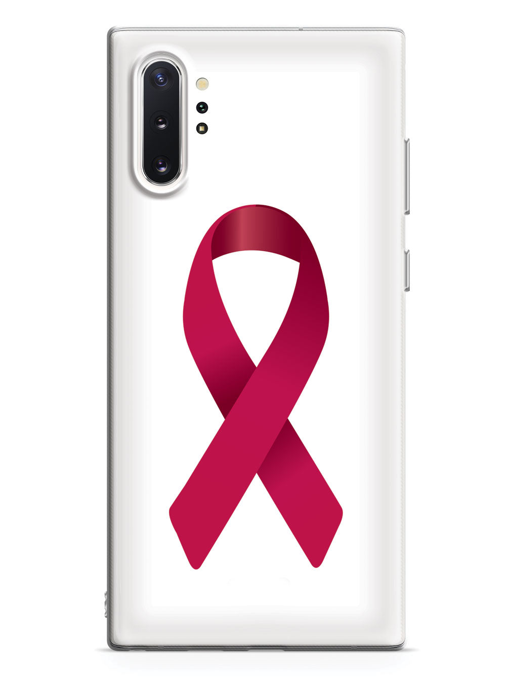 Burgundy Ribbon Awareness Case