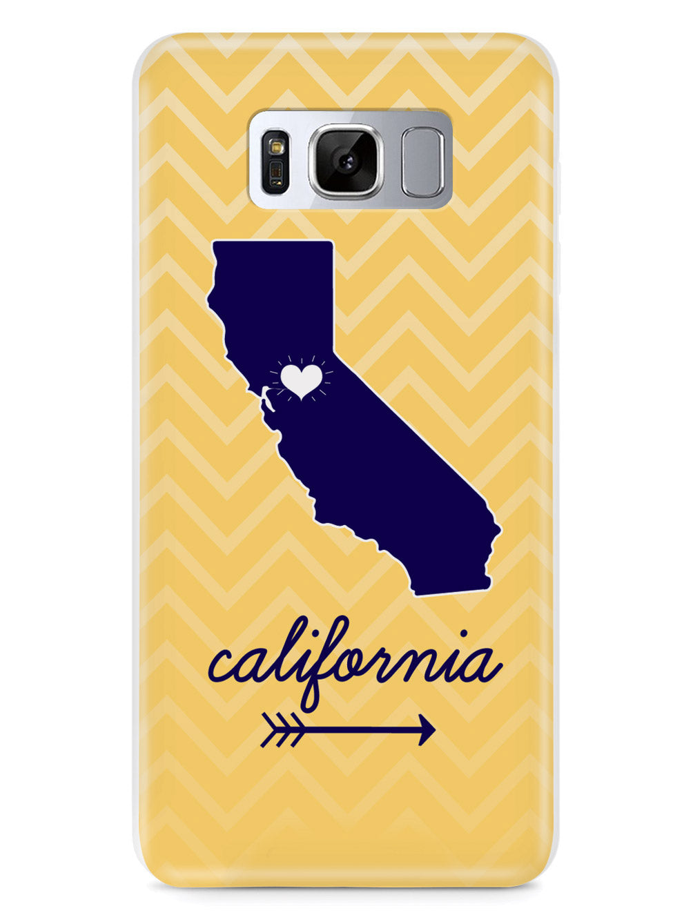 California Chevron Pattern State Case