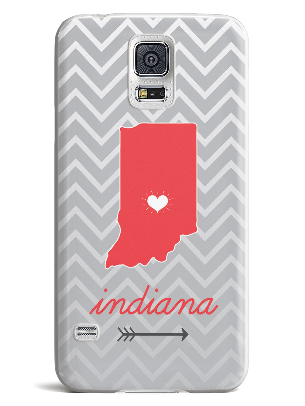 Indiana Chevron Pattern State Case