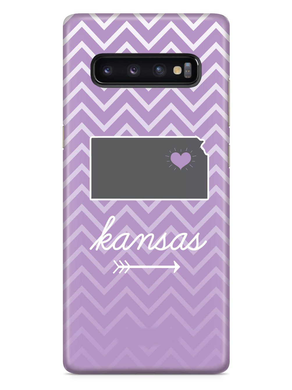 Kansas Chevron Pattern State Case