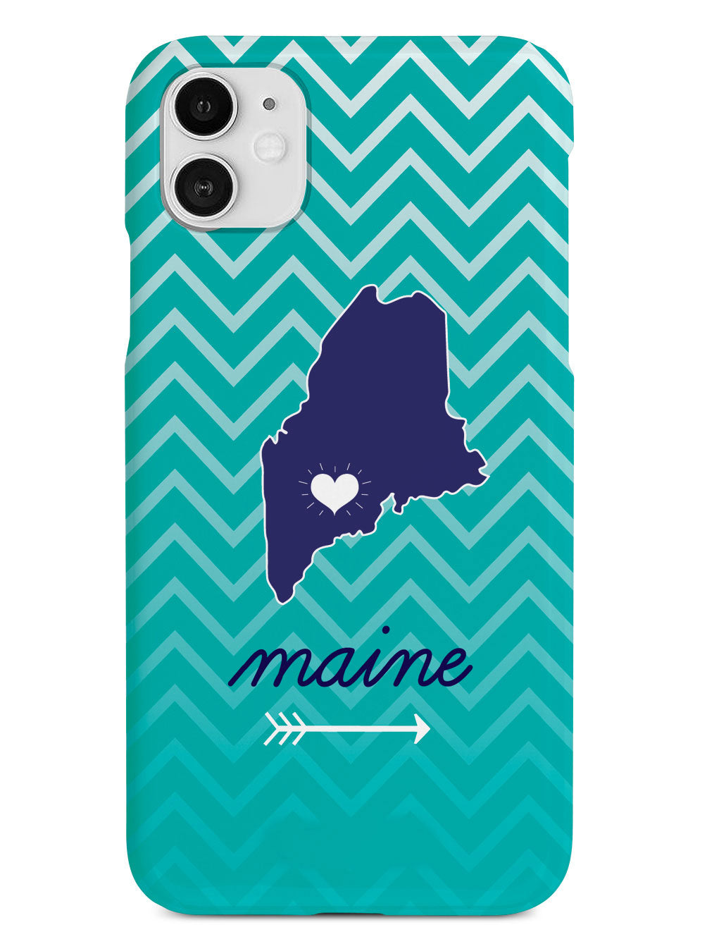 Maine Chevron Pattern State Case