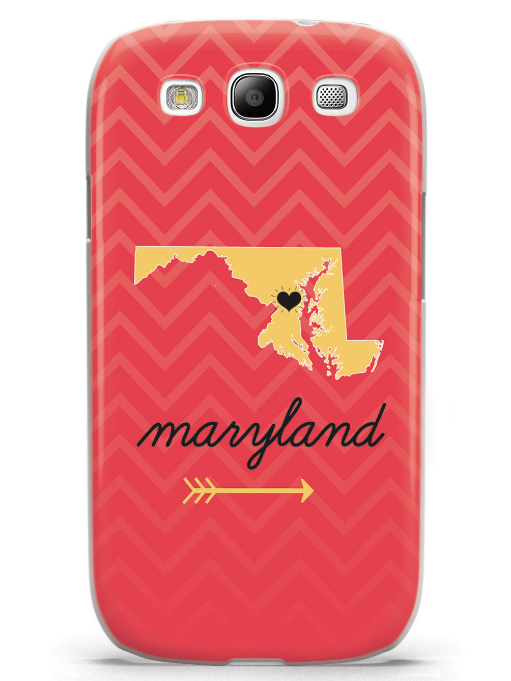 Maryland Chevron Pattern State Case