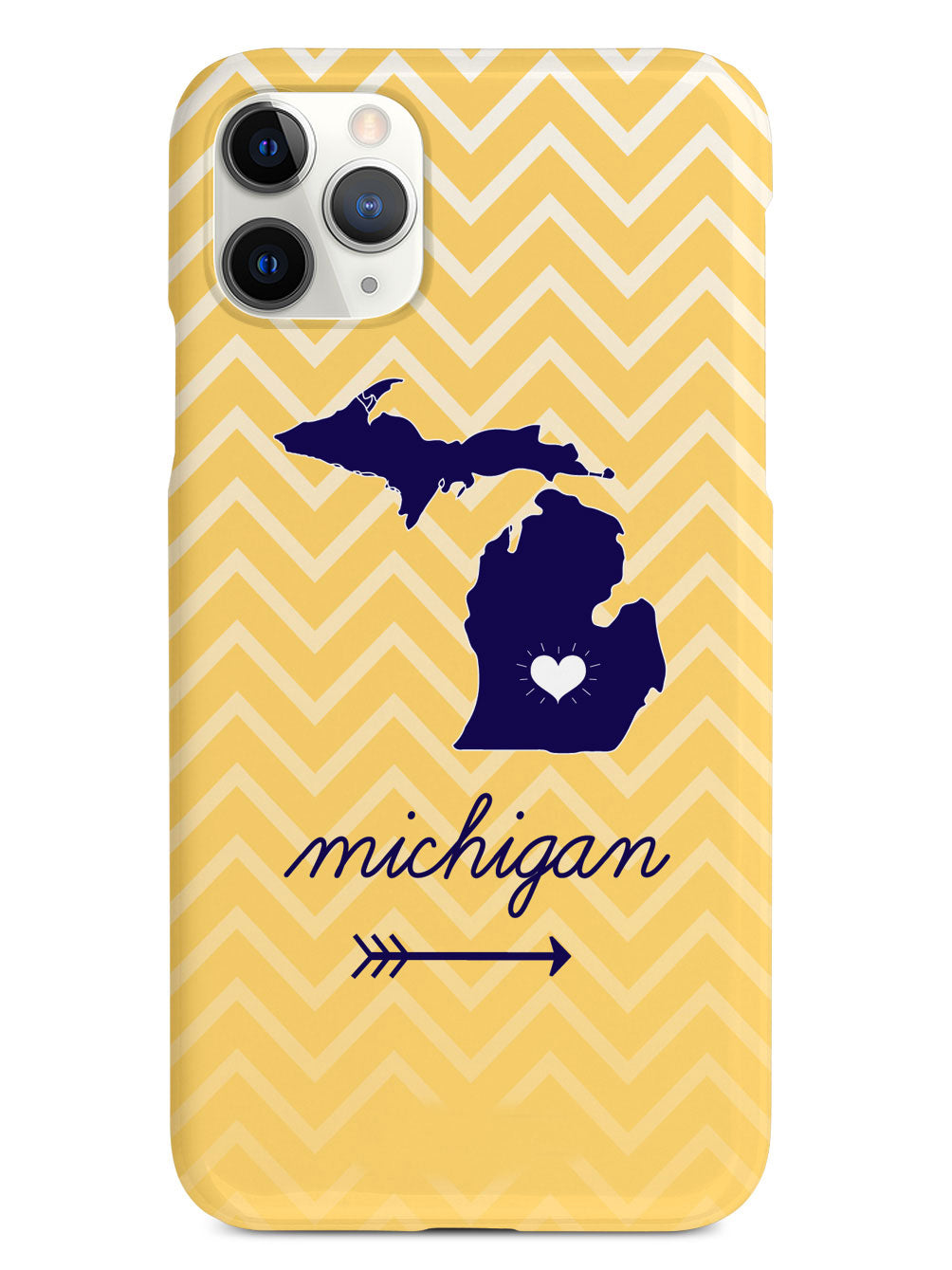 Michigan Chevron Pattern State Case