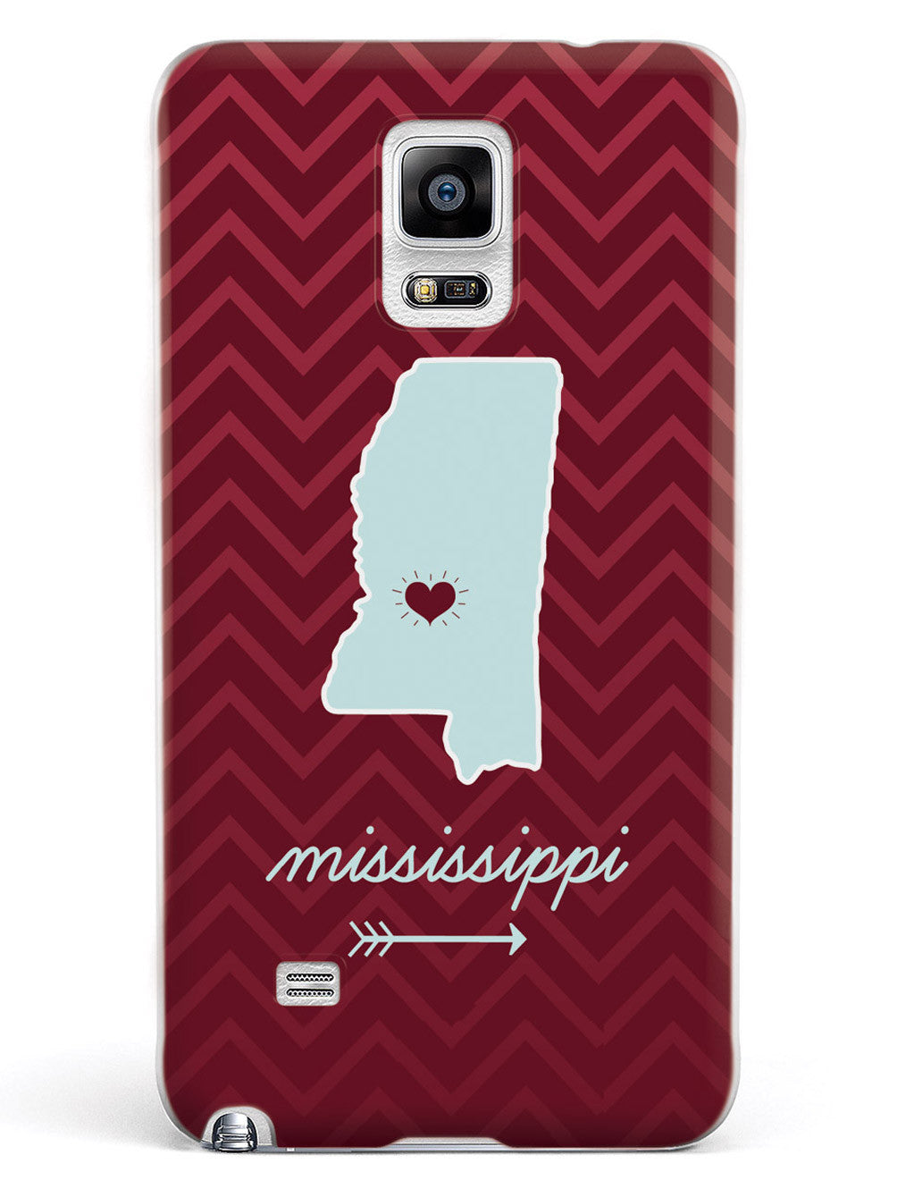 Mississippi Chevron Pattern State Case
