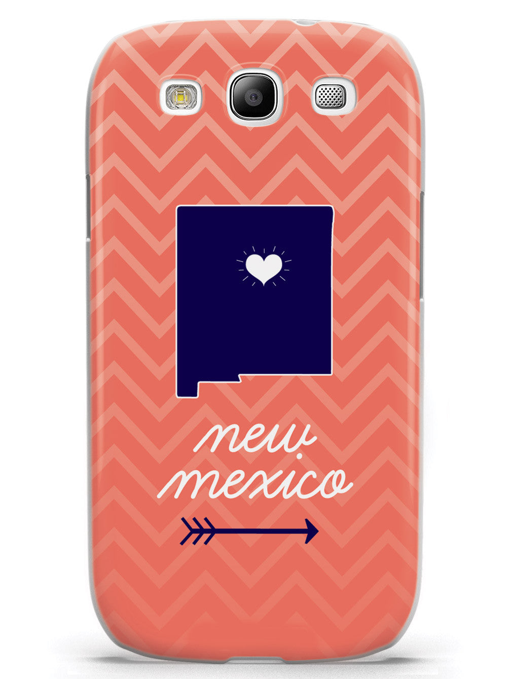 New Mexico Chevron Pattern State Case