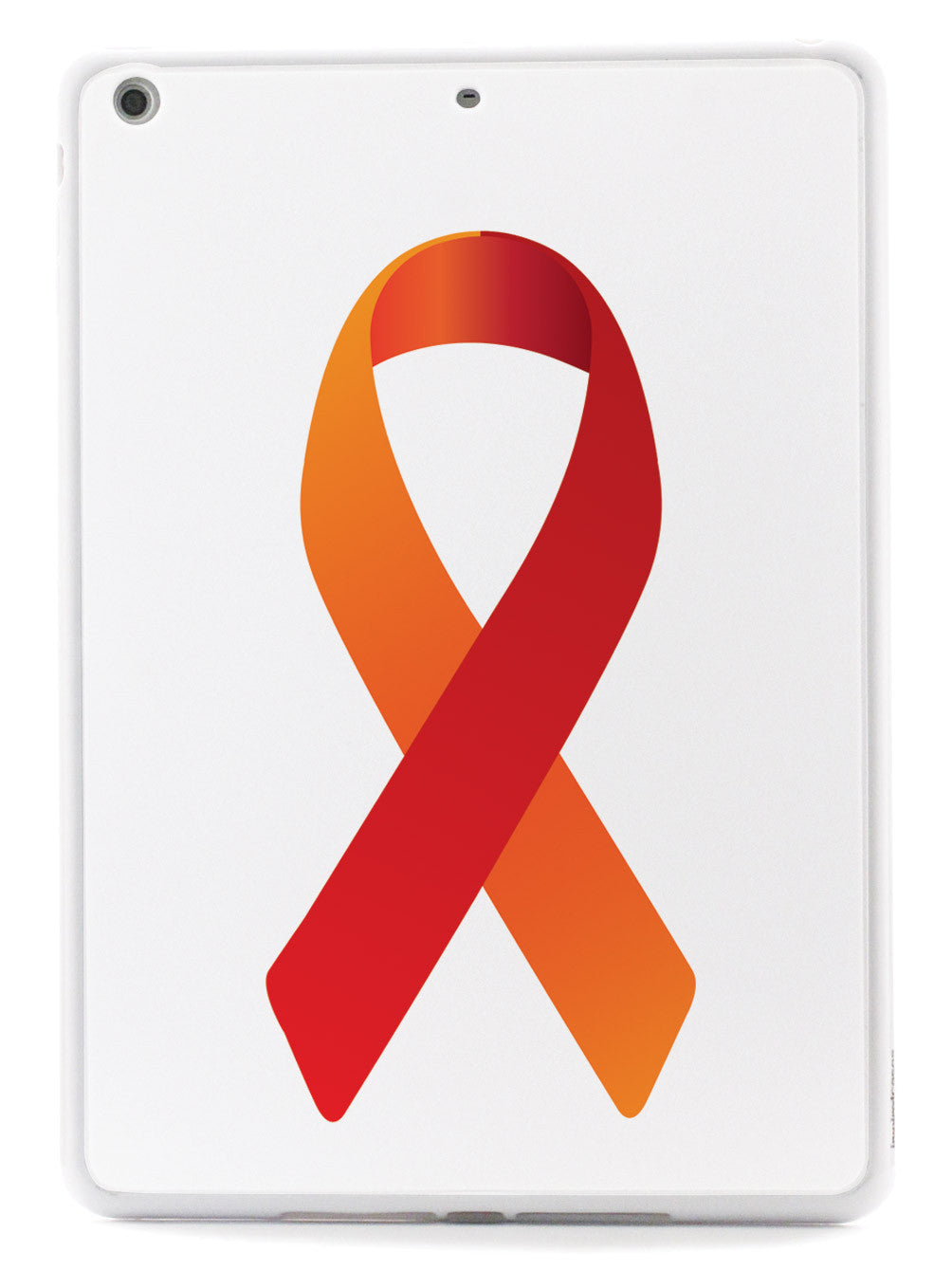 Orange & Red Awareness Ribbon Case