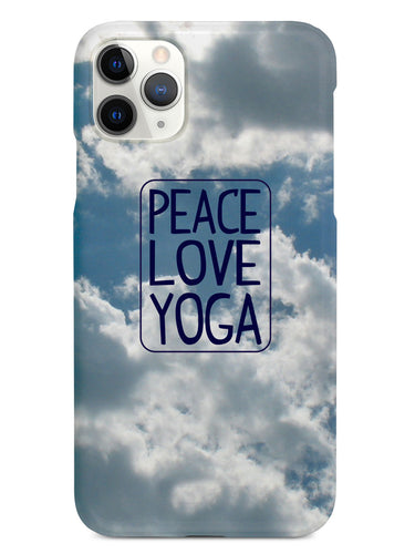 Peace, Love, Yoga Case